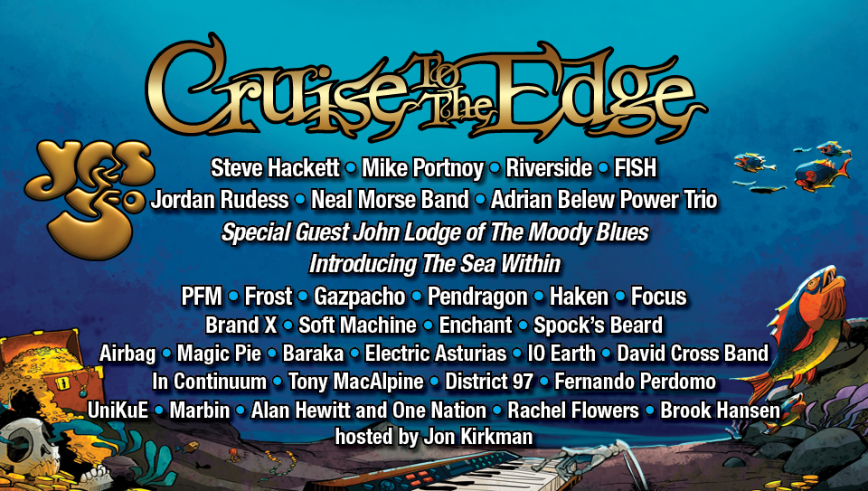 The Bands Cruise To The Edge Feb 4 9 2019